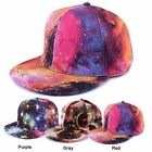 Galaxy Star Space Unsex Baseball Cap Flat Snapback Bboy Hip-Hop Hat Adjustable