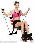 Home Gym Exercise Bench Core Rocket Wonder Master Abs Twister Fitness Free DVD
