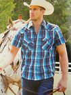 New Mens Wrangler Joseph Western Competition Campdrafting Performance Shirt