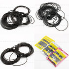 950/750pcs 0.5 0.6 0.7mm O Ring Rubber Seal Washers Watch Back Gaskets 12-30mm