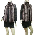 New Faux Fur Black Grey Brown Vest Bolero Shrug Mini Jacket Cardigan Shawl