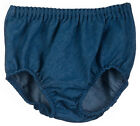 100% Cotton Diaper Cover Denim Blue Jean Infant Boy or Girl Bloomer 3M-24M SOFT