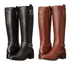 Cole Haan Womens Kenmare Riding Tall Pull On Knee High Zipper Equestrian Boots