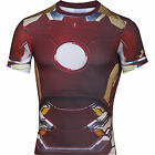 UNDER ARMOUR Alter Ego Iron Man Body Compression Baselayer Shirt