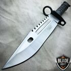 "13"" Bayonet US Military Tactical Survival Hunting Knife Fixed Blade Rambo Army"