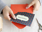 HIMORI ICONIC Message Card - 1 x Message Card /Greeting Cards Including Envelope
