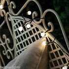 50 LED SOLAR POWERED BERRY FAIRY STRING OUTDOOR GARDEN LIGHTS WITH TIMER 5M