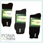 Mens Bamboo Heavy Duty Work Socks 3 Pack Size 6-11 11-14