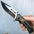 TAC-FORCE Easy Open SAWBACK Rescue Folding Pocket Knife Survival Hunting EDC