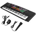 New 54 Keys Music Electronic Keyboard Kid Electric Piano Organ W/Mic & Adapter