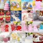 Home Red Heart Shaped Candles Wedding Party Candle holder Decor New 2015