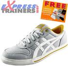Onitsuka Tiger Mens Aaron CV Casual Classic Retro Trainers Soft Grey *AUTHENTIC*