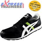 Onitsuka Tiger Mens Temp Raver Classic Retro Trainers Black *AUTHENTIC*