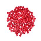 500 Pcs 4mm Rondelle Wood Spacer Loose Beads 4mm Jewelry DIY Findings Beads
