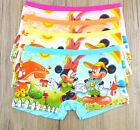 100 cotton Boys Girls cartoon mickey mouse printed briefs kids accessories