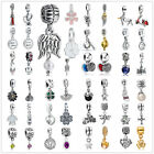 K23 Silver Charms Beads dangle Fit sterling 925 Necklace European charm Bracelet
