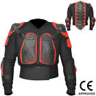 AQWA Motocross Motorbike Body Armour Motorcycle Protection Guard Jacket Blk/Red