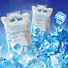 400ml Reusable Cool Ice Pack Bag First Aid Pain Relief Therapy Food Storage