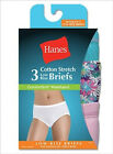 3 Pack Hanes Womens Comfortsoft Waisband Low Rise Briefs  - Style ET39AS