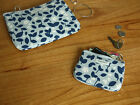 HIMORI Promenade Cotton Small Wallet or Daily Pouch - Coin Purse / Cosmetics Bag