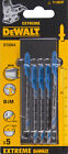 DeWALT DT2054 82mm Bi-Metal Jigsaw Blades (Pack of 5) T118EOF