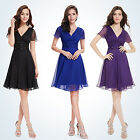Ever Pretty Women Short Sleeve Chiffon Party Cocktail Party Daily Dress 03882