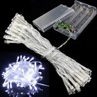 3 Color Battery LED String Fairy Lights Xmas Christmas Party Wedding Decoration