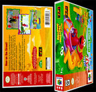 Elmos Number Journey - N64 Reproduction Art Case/Box No Game.