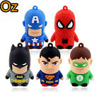 Superheros USB Stick, 16GB Quality Batman Superman USB Flash Drives WeirdLand