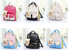 Fashion Casual Girl Backpack Shoulders Bag Handbag Student Schoolbag Outdoor Bag
