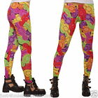 JELLY BABIES LEGGINGS GOTH EMO INSANITY SIZE 10-12