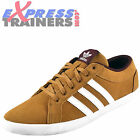 Adidas Originals Womens Girls Adria PS Suede Leather Trainers Mustard*AUTHENTIC*