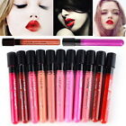 Water proof Liquid Lip Gloss Matte Lipstick Lip Pen Long Lasting Makeup Beauty