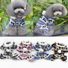 Cute Puppy Dog Pet Soft Warm Snowflake Deer Hoodie Jumpsuit Coat Doggy Outfit