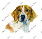 Beagle Fox Hound Dog Lover Home Office Room Camp Den Decor Decal Wall Art Gift