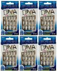 6 Broadway Nails FASHION DIVA Nail Kit METAL~ Chrome Medium Length #55577 BGGD01