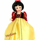 Madame Alexander Snow White Storyland Storybook 8-inch Doll