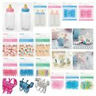 BABY SHOWER FAVOURS - Bubbles,Streamers,Sweets,Pegs,Safety Pins,Blue,Pink,Unisex