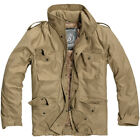 BRANDIT CLASSIC M65 MILITARY FIELD JACKET VINTAGE MENS COAT TRAVEL PARKA CAMEL