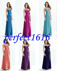 New Chiffon Dress Formal Prom/Bridesmaid Cocktail Party Evening Dress Size 6-18