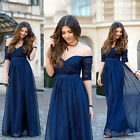 Ever Pretty Half Sleeve Long Bridesmaid Evening Party Formal Prom Dress 08411