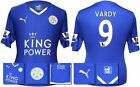 *15 / 16 - PUMA ; LEICESTER CITY HOME SHIRT SS + PATCHES / VARDY 9 = SIZE*