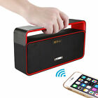 Bluetooth Portable Hands-Free Speaker 3.0 Wireless with LED Clock Outdoor Travel