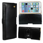 Real Genuine Leather Belt Clip Holster Holder Case Cover For iPhone 6S 6S Plus