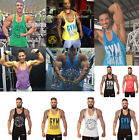 Pro Men Gym Bodybuilding Tank Tops Stringer Fitness Shirts trainning vest
