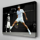 S560 Roger Federer Through the Legs Shot Canvas Art Ready to Hang Picture Print