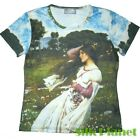 JW WATERHOUSE WINDFLOWERS T SHIRT NEO CLASSIC FINE ART PRINT PAINTING