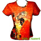 GUSTAV KLIMT Girl Friends Girlfriend Lesbian T SHIRT FINE ART PRINT NOUVEAU