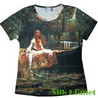 JW WATERHOUSE LADY OF SHALOTT T SHIRT CLASSIC FINE ART PRINT PAINTING