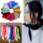 Fashion Women Ladies Silk Satin Scarf Neckerchief Square Ribbon Scarves Gift